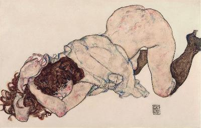 1024pxEgon_Schiele__Kneeling_Girl_Resting_on_Both_Elbows__Google_Art_Project_400x400