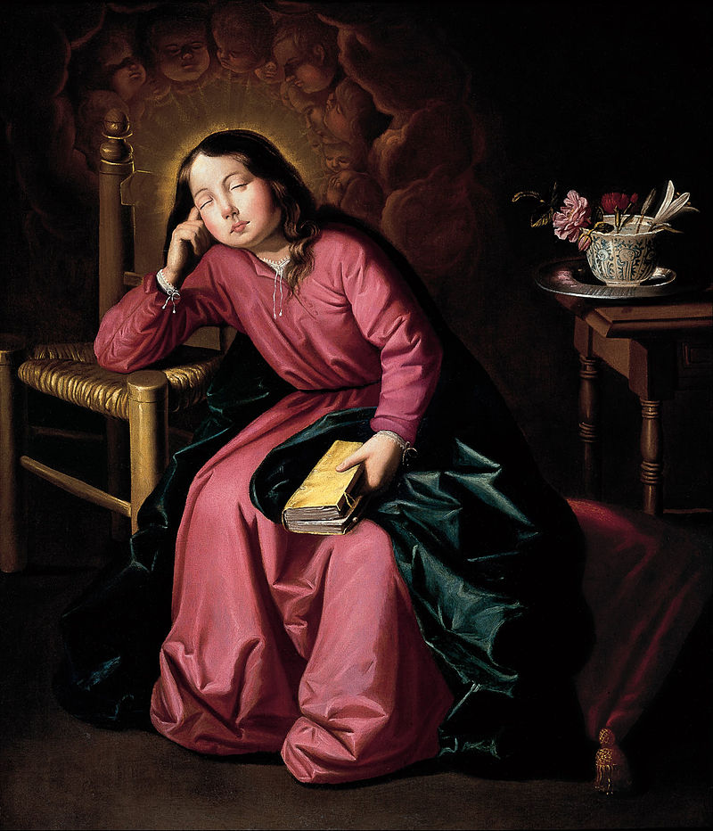 Francisco_de_Zurbarán_-_The_Child_Virgin_Asleep_-_Google_Art_Project